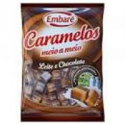 CARAMELO LEITE E CHOCOLATE  EMBARE 660G