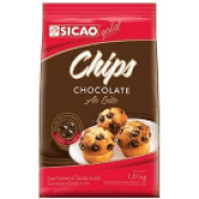 CHIPS DE CHOCOLATE AO LEITE SICAO GOLD 1,01KG