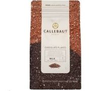 CHOCOLATE FLAKES AO LEITE SMALL 4M CALLEBAUT 1KG
