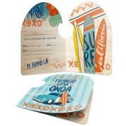 CONVITE SURF JUNCO C/8