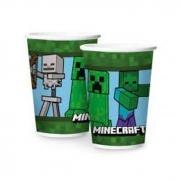 Copo Minecraft 180ml Regina Festas c/12