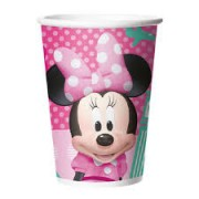 COPO MINNIE ROSA 330ML REGINA FESTAS C/8