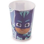 COPO PJ MASKS MENINO GATO 320ML PLASUTIL