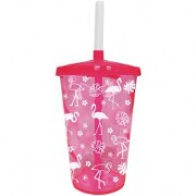 COPO TWISTER FLAMINGO 700ML MASSARI