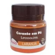 CORANTE EM PO PARA CHOCOLATE LARANJA MAGO 5G
