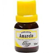 CORANTE LIQUIDO AMARELO ARCOLOR 10ML