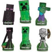 Decoracao de Mesa Minecraft Regina Festas c/6