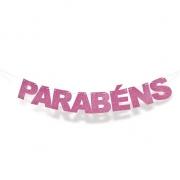 Faixa Eva Parabens Pink Cromus