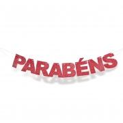 Faixa Eva Parabens Vermelho Cromus