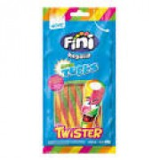 FINI REGALIZ TUBES TWISTER ACIDO 80G