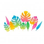 Folhagem Decorativa Festa Havaiana Cromus c/10
