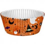 Forminha Cupcake Halloween Regina Festas c/45