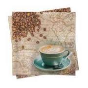 Guardanapo Cafe 33x33cm Cromus c/20
