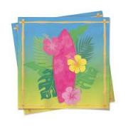 Guardanapo Festa Havaiana 24,5x24,5cm Cromus c/20