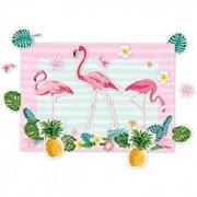 KIT DECORATIVO FLAMINGO REGINA FESTAS