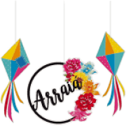 KIT MOBILE ARRAIA JUNINO CROMUS C/3