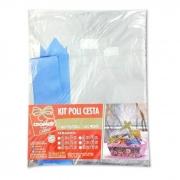 Kit Poli Cesta Incolor 52x70 Cromus