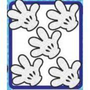 MINI LUVA MICKEY GLITTER PIFFER C/5
