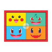 PAINEL 4 LAM POCKET MONSTERS JUNCO