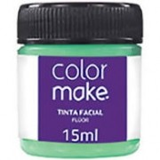TINTA FACIAL VERDE FLUORESCENTE 15ML COLORMAKE