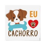 TRANSFER CAMISETA CACHORRINHO CROMUS