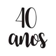 TRANSFER PARA BALAO 40 ANOS PRETO P CROMUS
