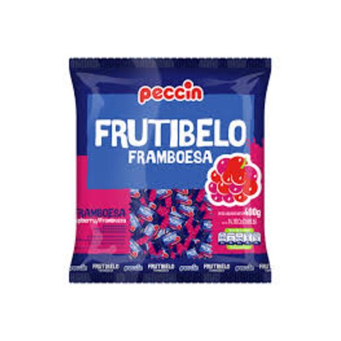 BALA FRUTIBELO FRAMBOESA PECCIN 400G