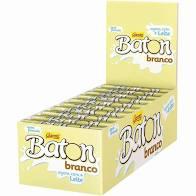 BATON CHOCOLATE BRANCO GAROTO C/30
