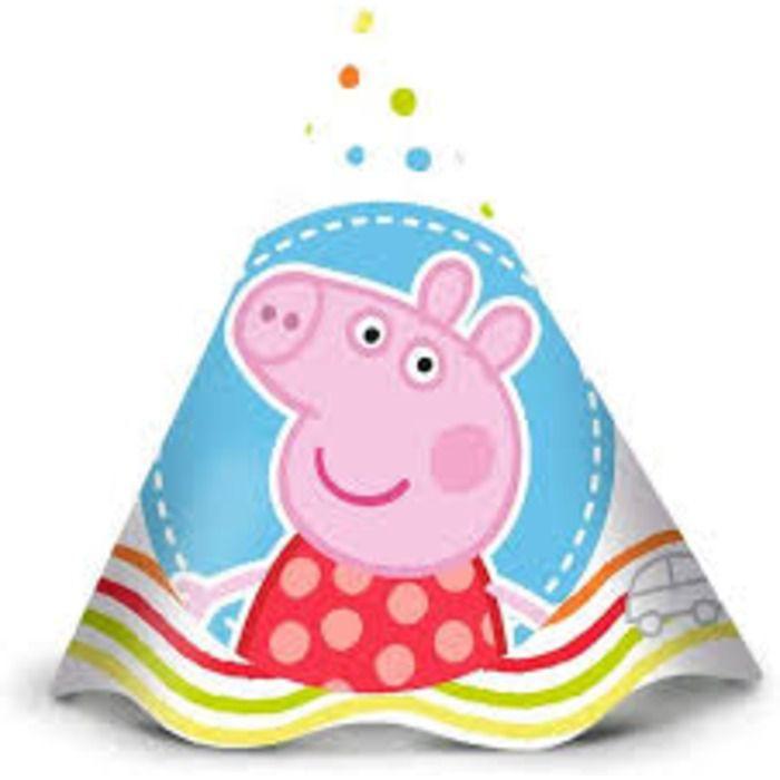 CHAPEU PEPPA PIG BABY REGINA FESTAS C/8