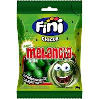 CHICLE MELANCIA ACIDO FINI 80G