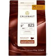 CHOCOLATE AO LEITE 823 GOTAS CALLEBAUT 2,5KG