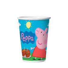 COPO PEPPA PIG REGINA FESTAS C/8