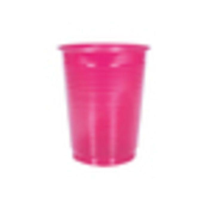 COPO PLASTICO 200ML PINK KAIXOTE C/50