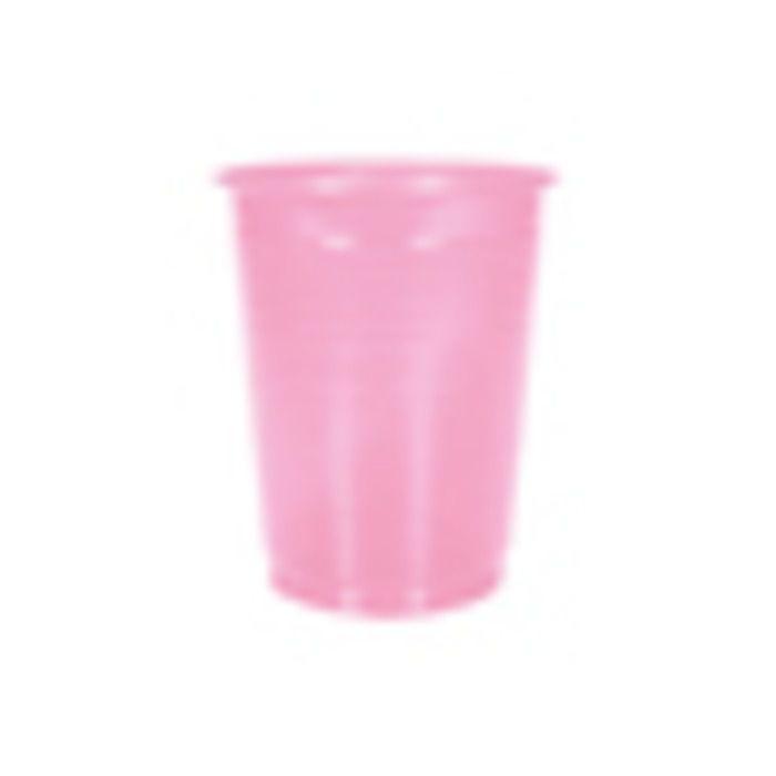 COPO PLASTICO 200ML ROSA KAIXOTE C/50