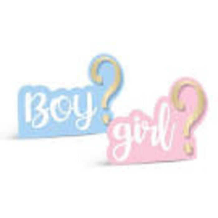 DECORACAO DE MESA BOY OR GIRL 2 CROMUS C/4
