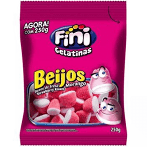 FINI BEIJOS MORANGO 250G