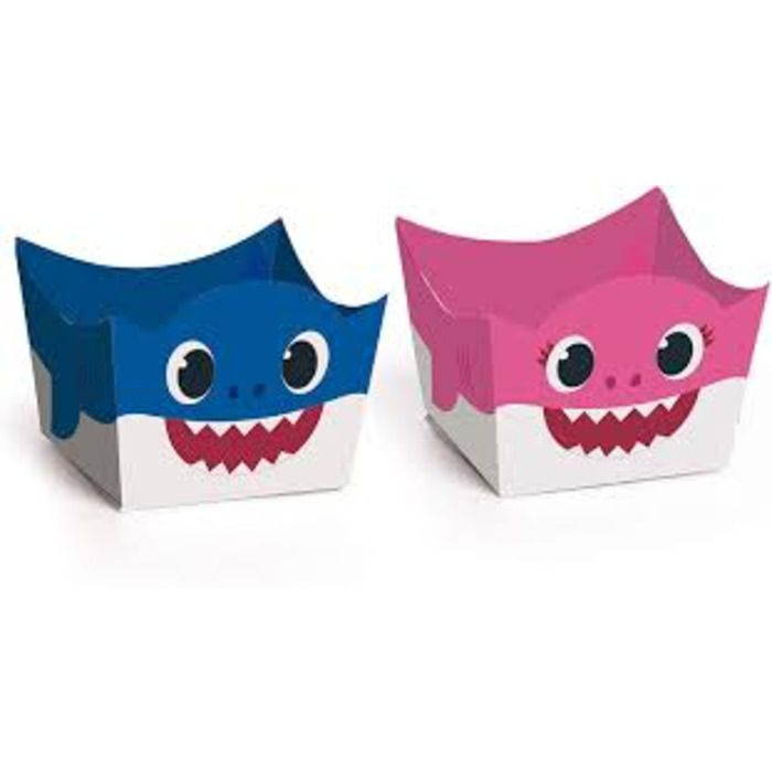 FORMINHA CACHEPOT MOMMY E DADDY BABY SHARK CROMUS C/24