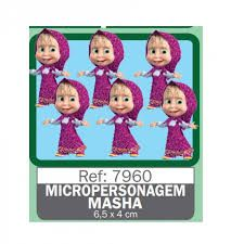 MINI PERSONAGEM MASHA PIFFER C/6