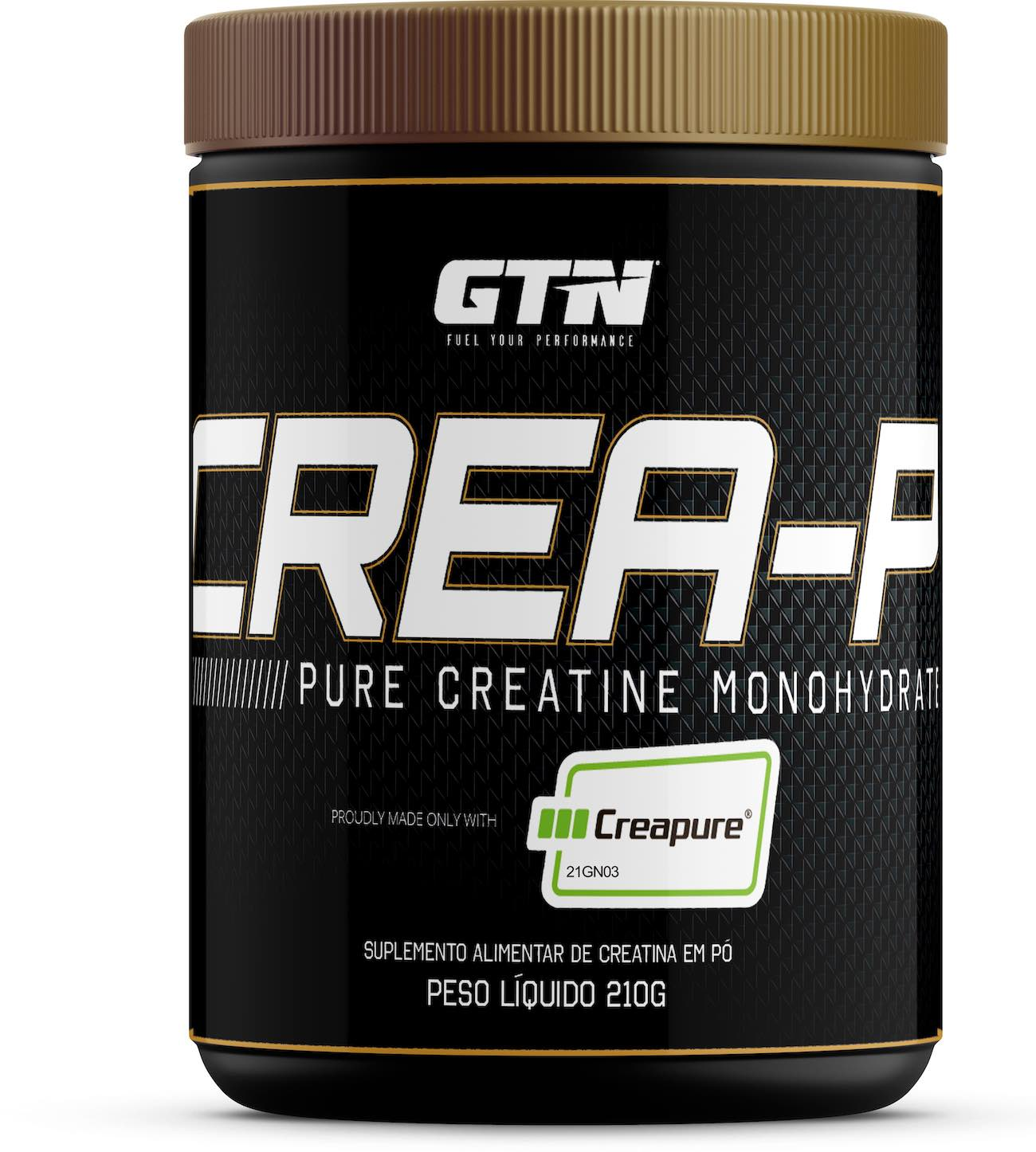 Crea-P Creatina made proudly with 100% Creapure® - 210g