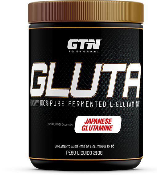GTN® Gluta L-Glutamina  - 210g