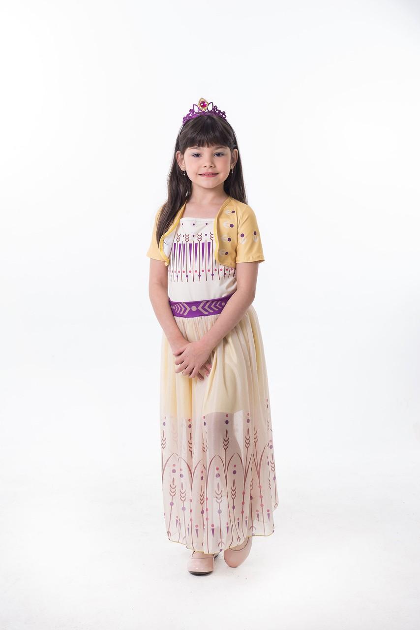 Fantasia Princesa do Gelo - Dourada