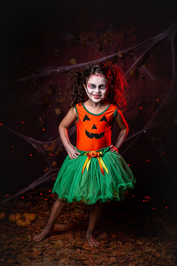 Fantasia Abóbora Halloween