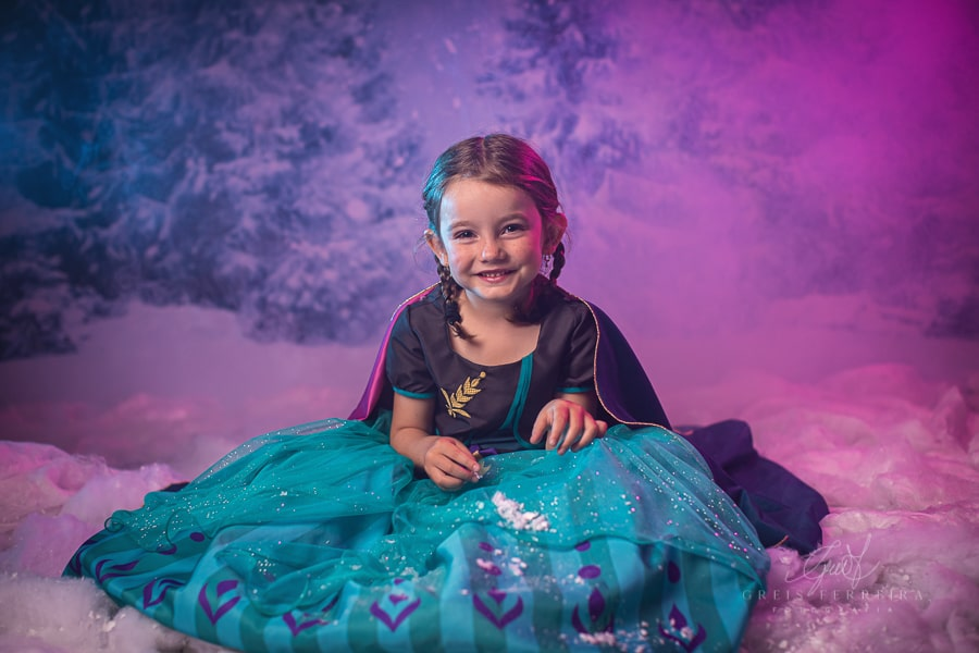 Fantasia Princesa Anna -Frozen 2 Luxo