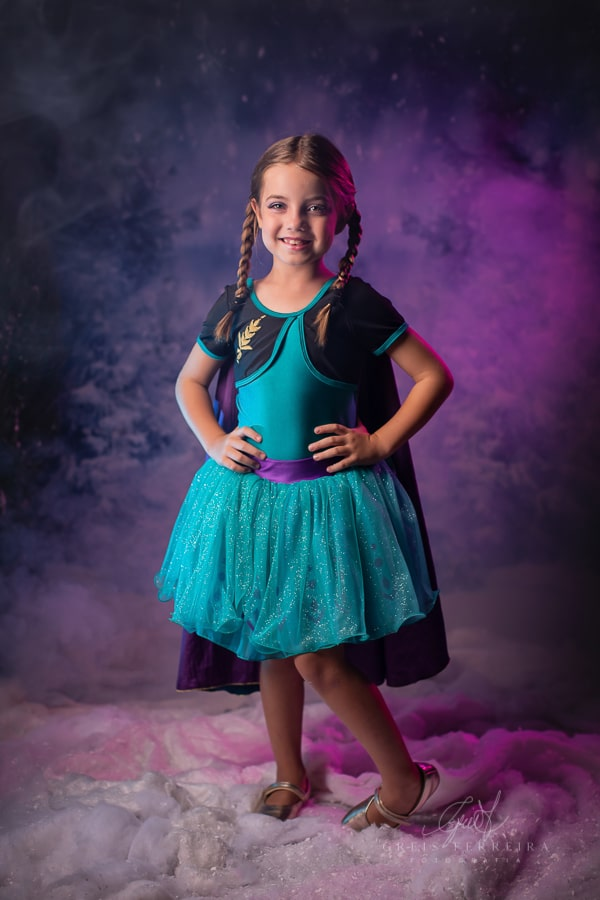 Fantasia Princesa Anna -Frozen 2