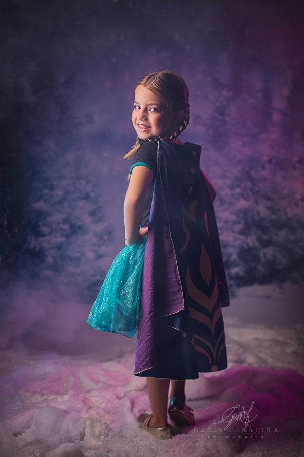 Fantasia Princesa do Gelo - Saia