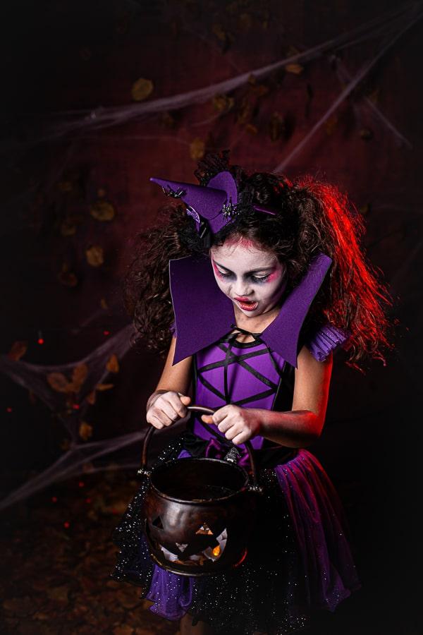 Fantasia Bruxinha Halloween