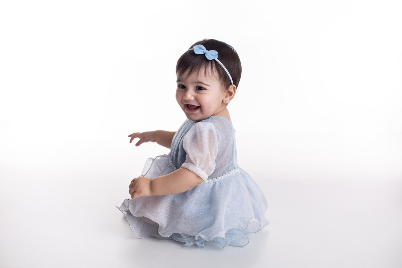 Fantasia Princesa de Cristal - Bebê