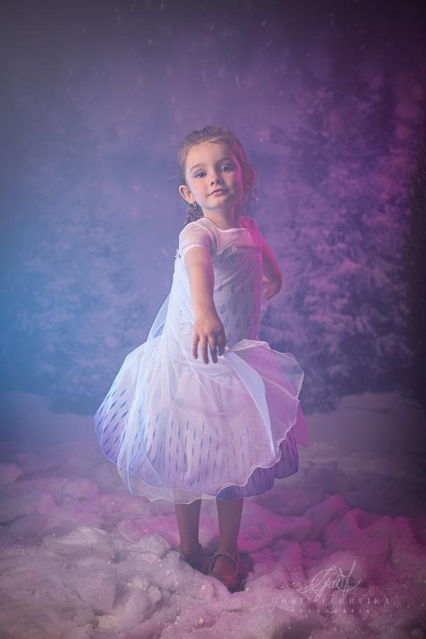 Fantasia Princesa Elsa - Frozen 2
