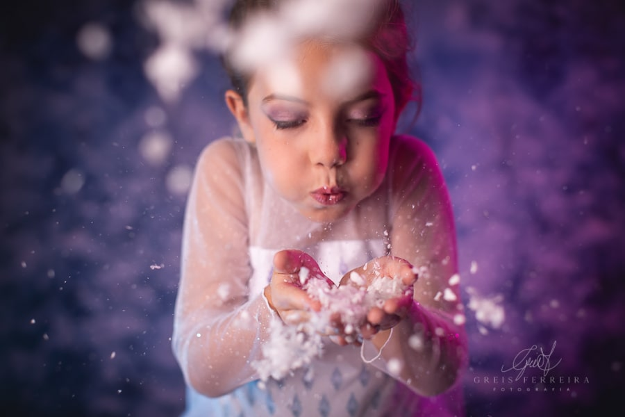Fantasia Princesa Elsa -Frozen 2 Luxo