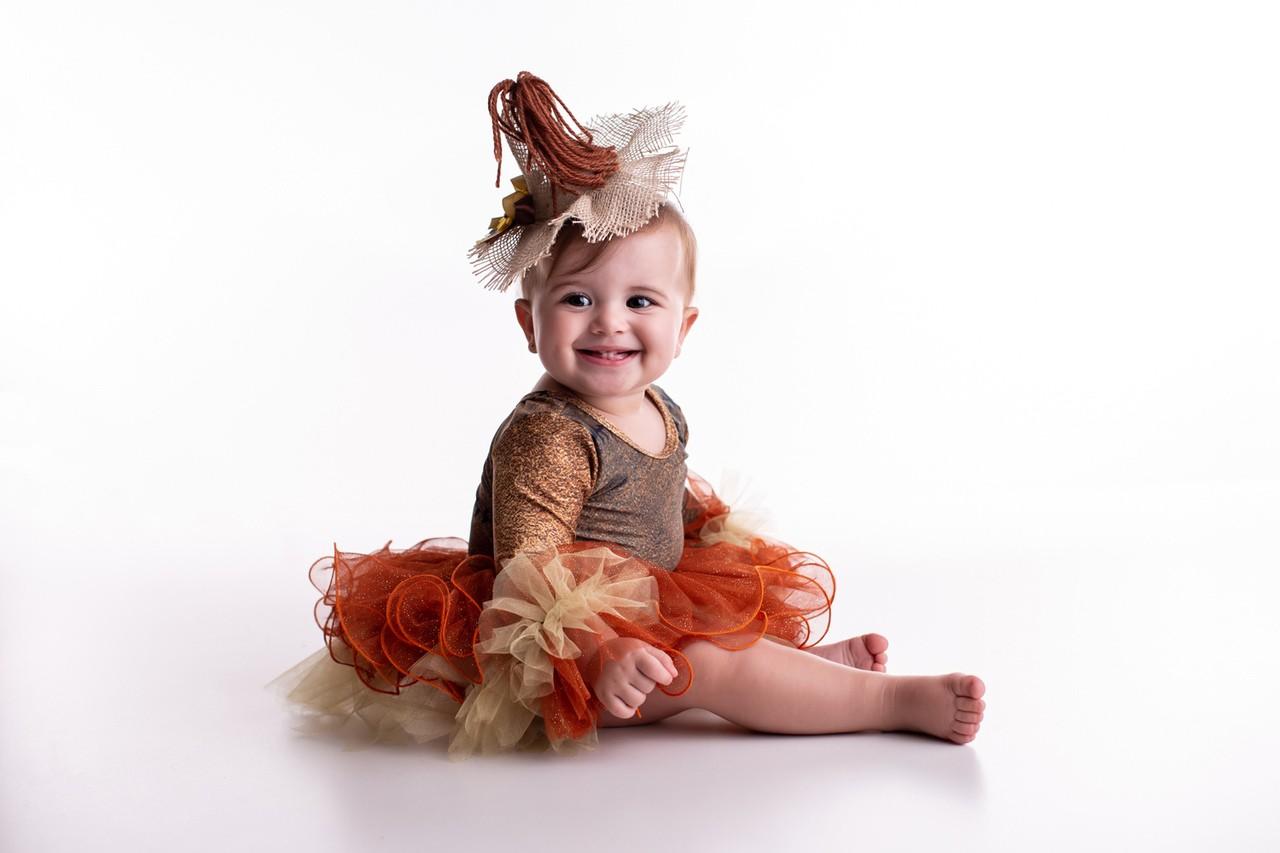 Fantasia Espantalha Halloween Bebê